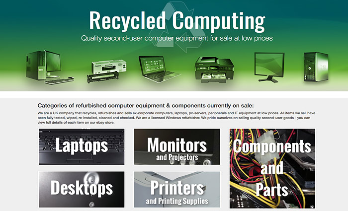 Recycled Computing website